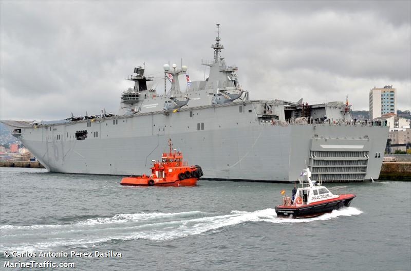 NATO WARSHIP L 61