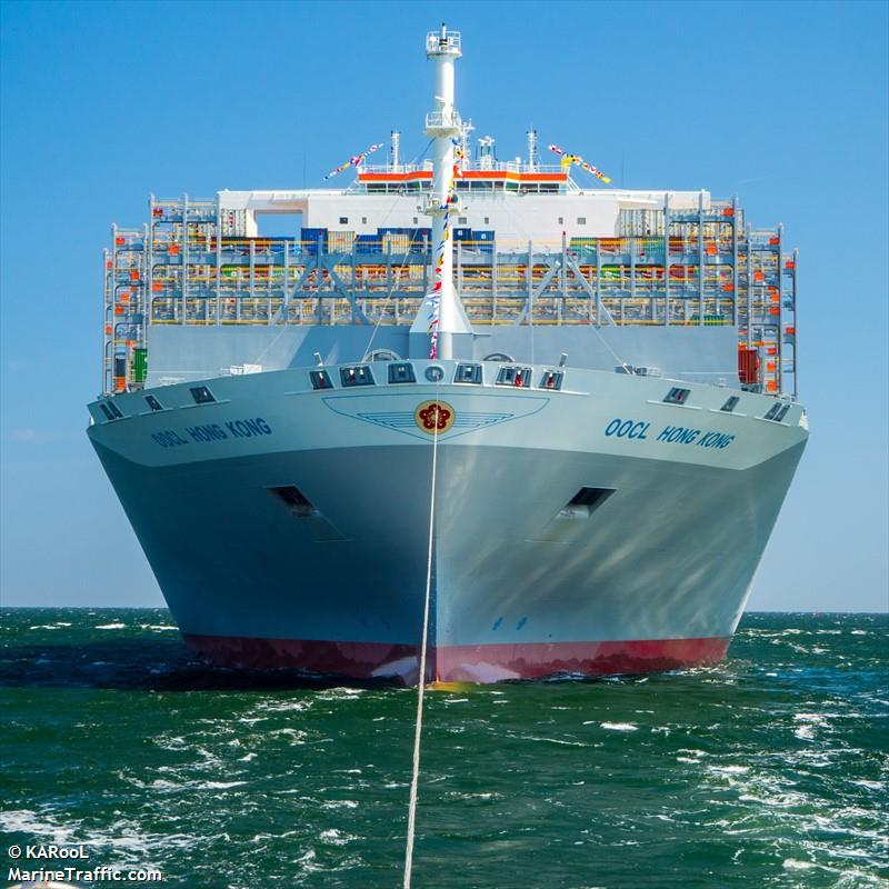 Vessel details for: OOCL HONG KONG (Container Ship) - IMO ...