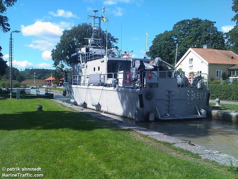 A503 HMS ARCTURUS