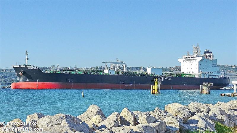 Vessel Details For British Altus Oil Chemical Tanker