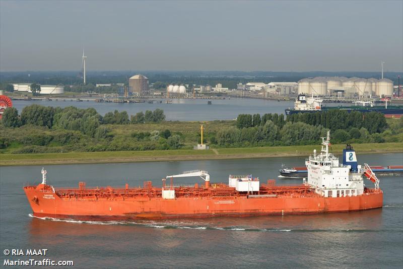 Vessel Details For Navig8 Violette Oil Chemical Tanker