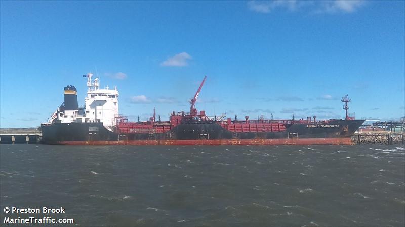 танкер асфальт транспортер