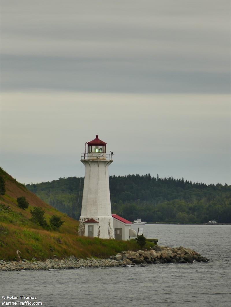 Halifax Harbour Inner Range Front