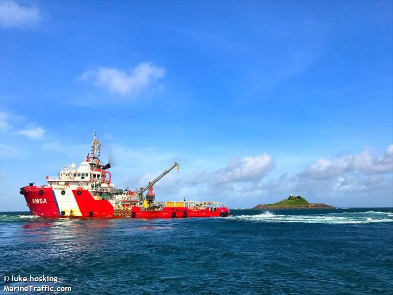 CORAL KNIGHT, Offshore supply vessel, IMO 9696280   Vessel details