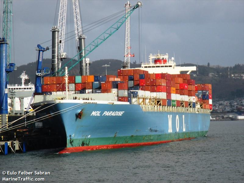 MOL PARADISE, Container ship, IMO 9307047 | Vessel details