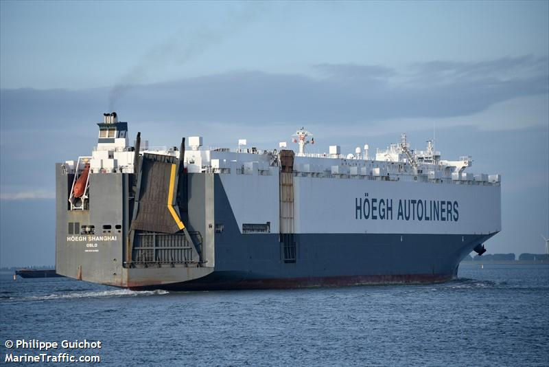 HOEGH SHANGHAI, Car carrier, IMO 9312482 | Vessel details