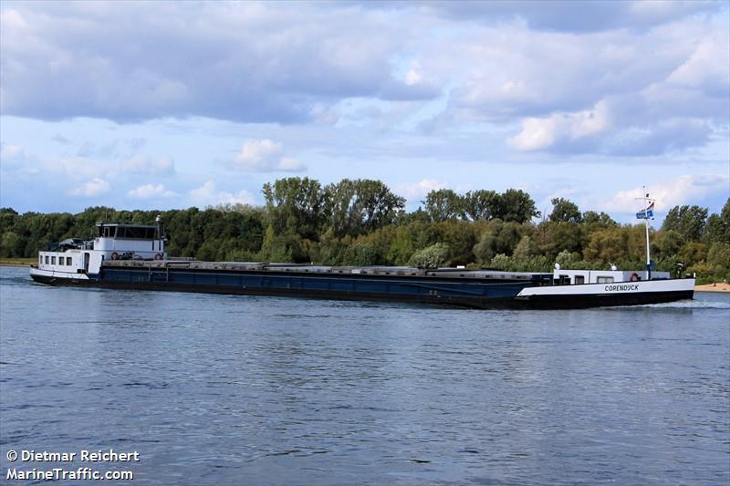 Vessel Details For Corendijck Inland Motor Freighter