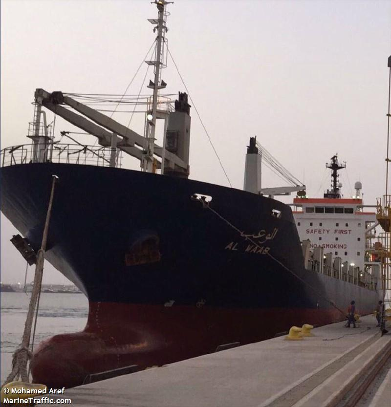 AL WAAB, Container ship, IMO 9259642 | Vessel details