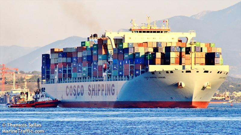 COSCO SHIPPING DANUBE, Container ship, IMO 9731913 | Vessel details