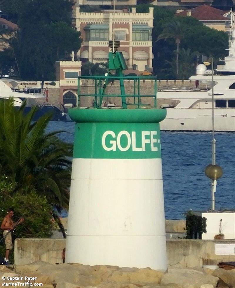 Golfe Juan Jetee Du Large