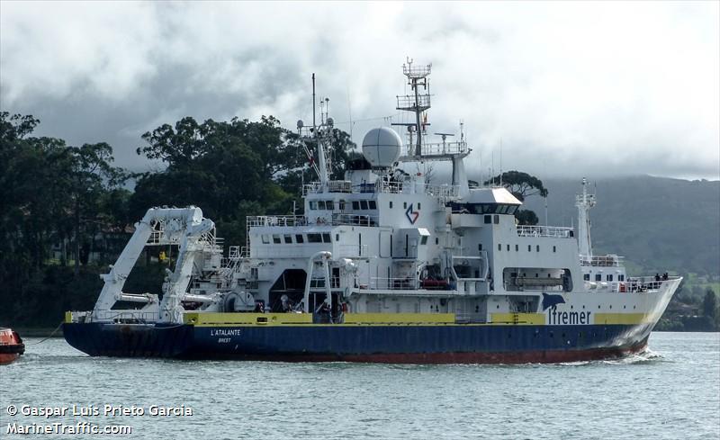 L'ATALANTE, Research vessel, IMO 8716071 | Vessel details |  BalticShipping.com