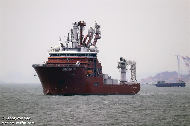HAI YANG SHI YOU 286, Offshore supply vessel, IMO 9662239 | Vessel