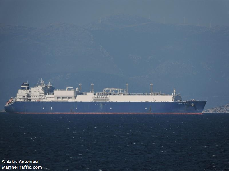 COOL VOYAGER, LNG carrier, IMO 9636785   Vessel details ...
