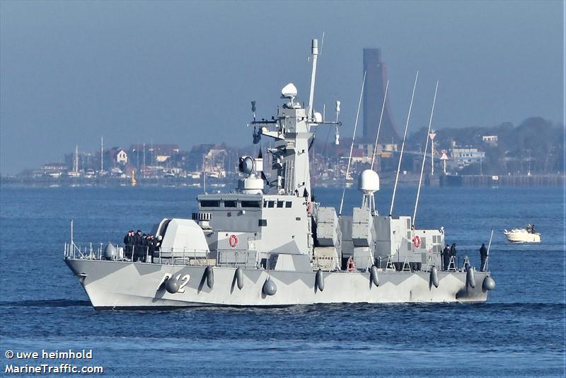 SWEDISH WARSHIP P12