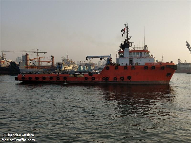 ATLAS GARNET, Offshore supply vessel, IMO 9333321 | Vessel