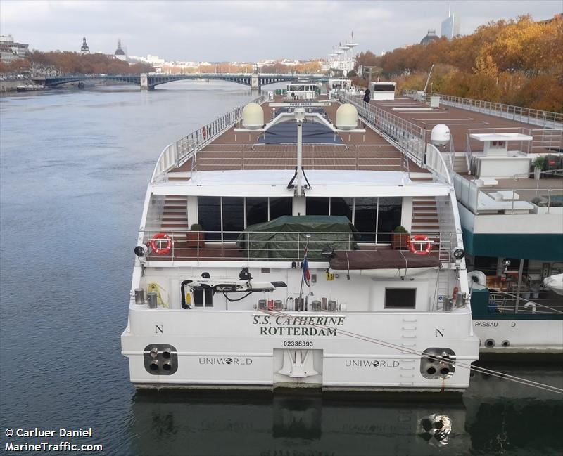 Vessel Details For SS CATHERINE Inland Passenger Ship Ferry - Ss catherine