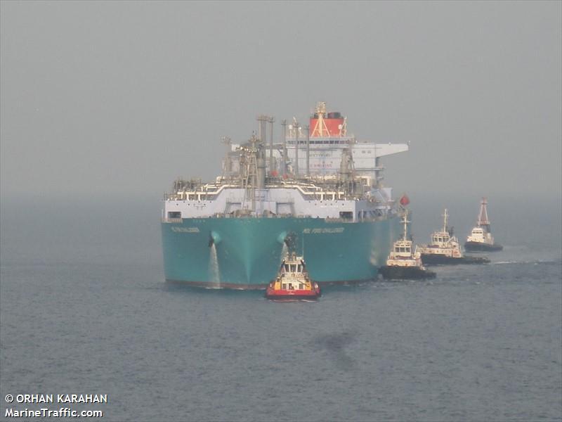MOL FSRU CHALLENGER, Chemical/Oil tanker, IMO 9713105