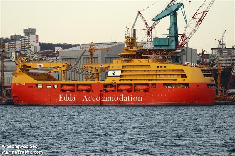 Vessel Details For Edda Fortis Accommodation Vessel
