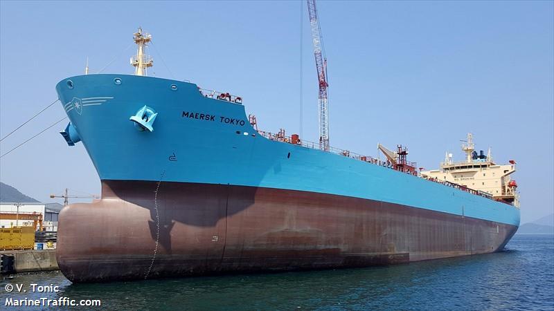 MAERSK TOKYO, Chemical/Oil tanker, IMO 9718076 | Vessel