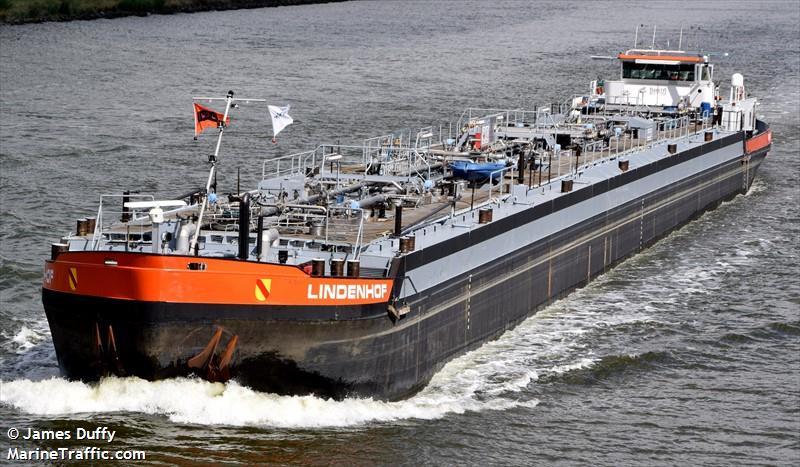Vessel Details For Lindenhof Inland Motor Tanker