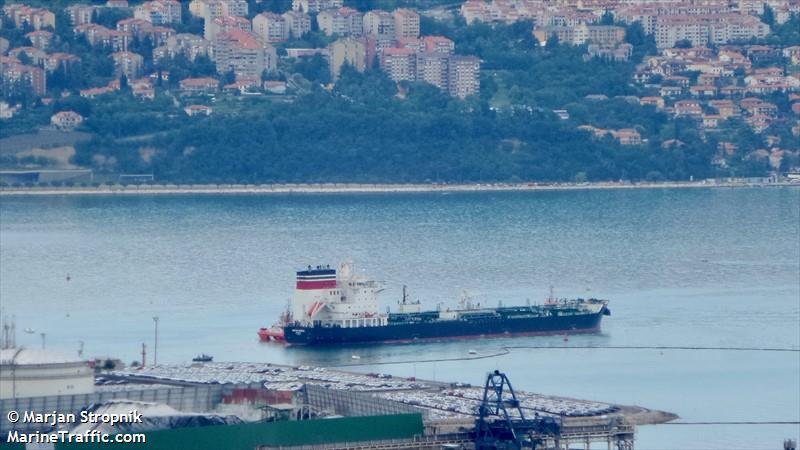 BRITISH NIMBUS, Chemical/Oil tanker, IMO 9724544 | Vessel