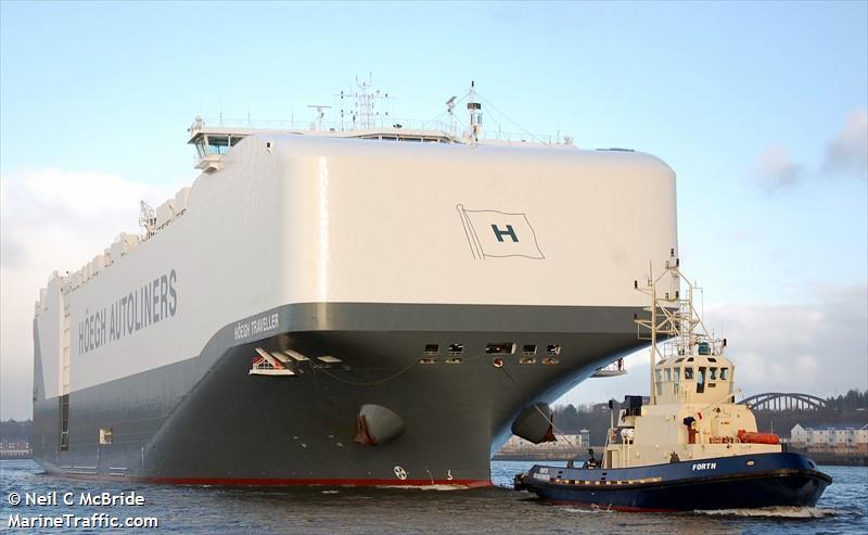 HOEGH TRAVELLER, Car carrier, IMO 9710737 | Vessel details