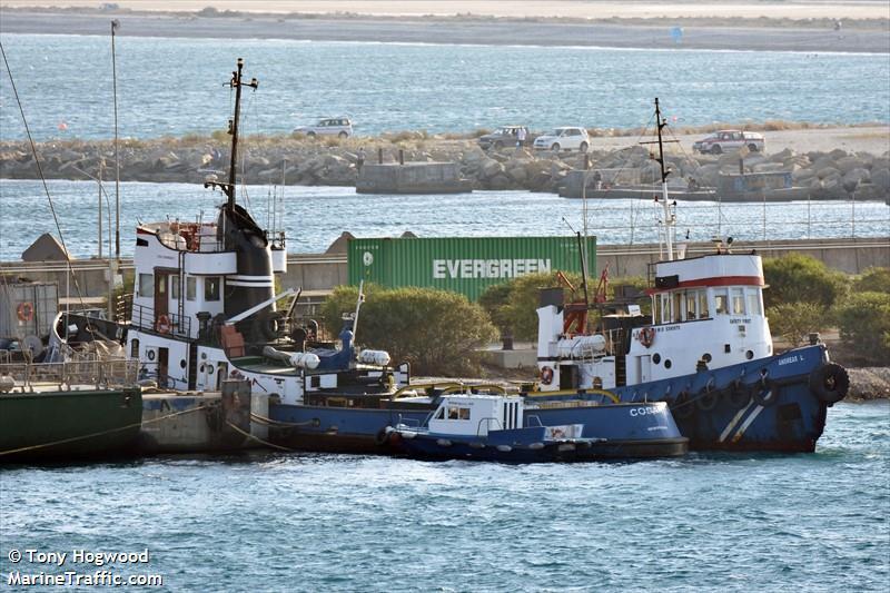 COSAN I, Tug boat, IMO 5186031 | Vessel details