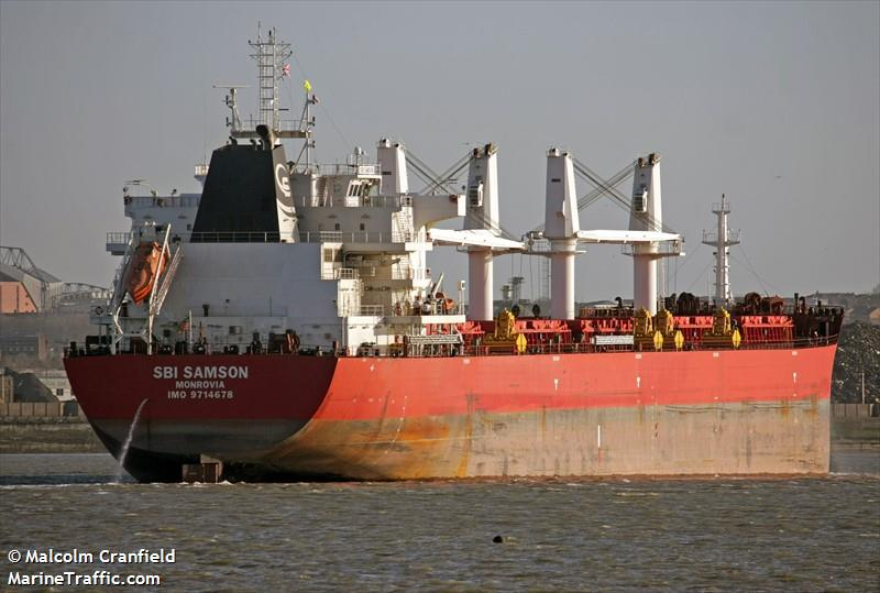 Picture of SBI SAMSON   AIS Marine Traffic