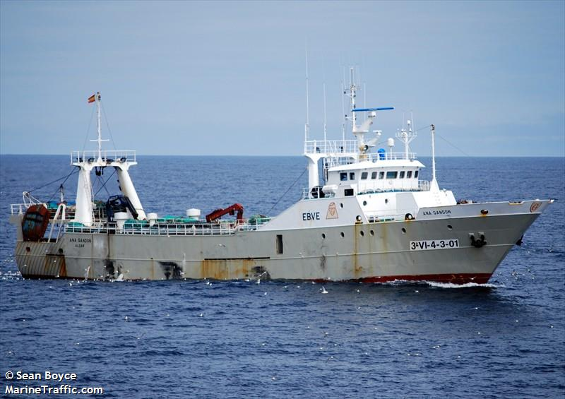 Vessel details for: ANA GANDON (Fishing Vessel) - IMO ...