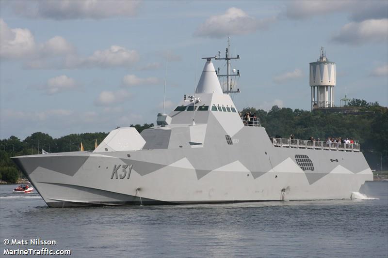 HMS VISBY SAR OVNING