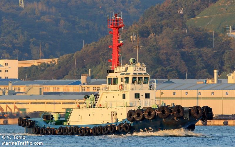 Vessel details for: ULSAN HO (Tug) - IMO 9161235, MMSI