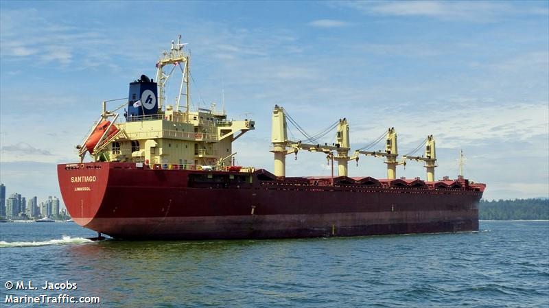 Vessel Details For: SANTIAGO (General Cargo)