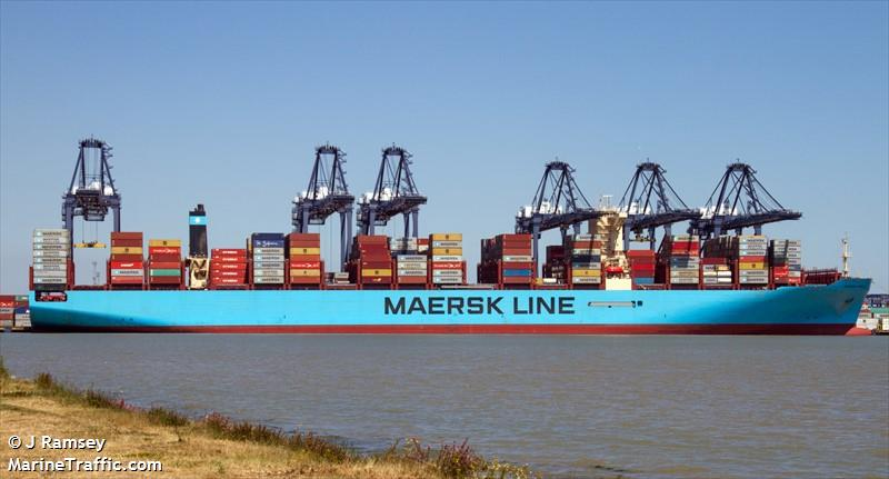 MAERSK HANOI, Container ship, IMO 9784295 | Vessel details