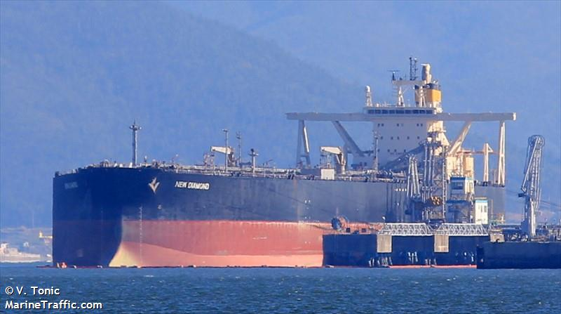 Детали судна: NEW DIAMOND (Tanker) - IMO 9191424, MMSI 351247000, Call Sign  3EWG Зарегистрировано в Panama | AIS Marine Traffic
