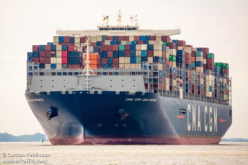 vessel details for cma cgm jean mermoz container ship imo