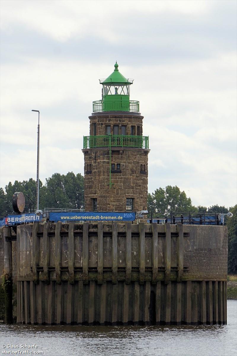 Bremen Überseehafen Südmole