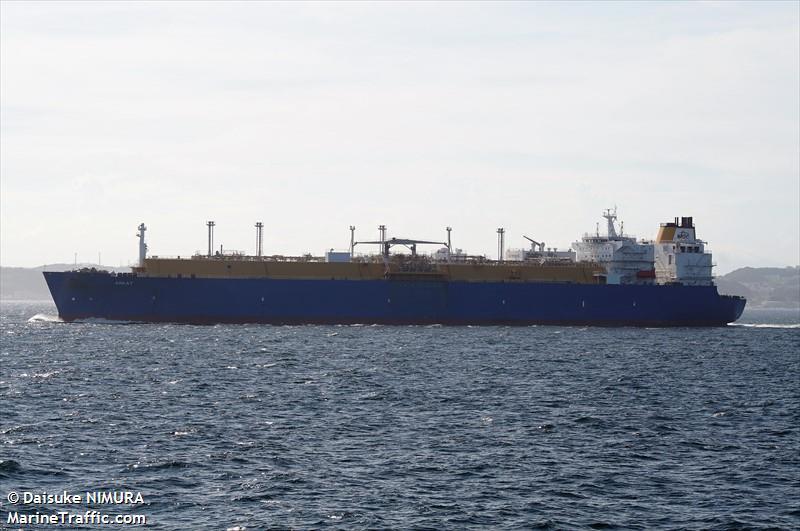 vessel details for arkat lng tanker imo 9496305 mmsi. Black Bedroom Furniture Sets. Home Design Ideas