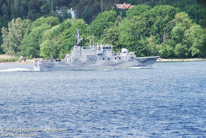 HMS LANDSORT