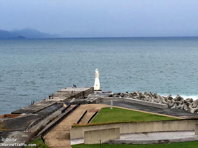Tagonoura Kō West Breakwater