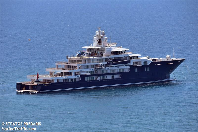 Ulysses Yacht Imo 9770270 Vessel Details Balticshipping Com