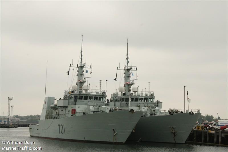 CANADIAN WARSHIP 701