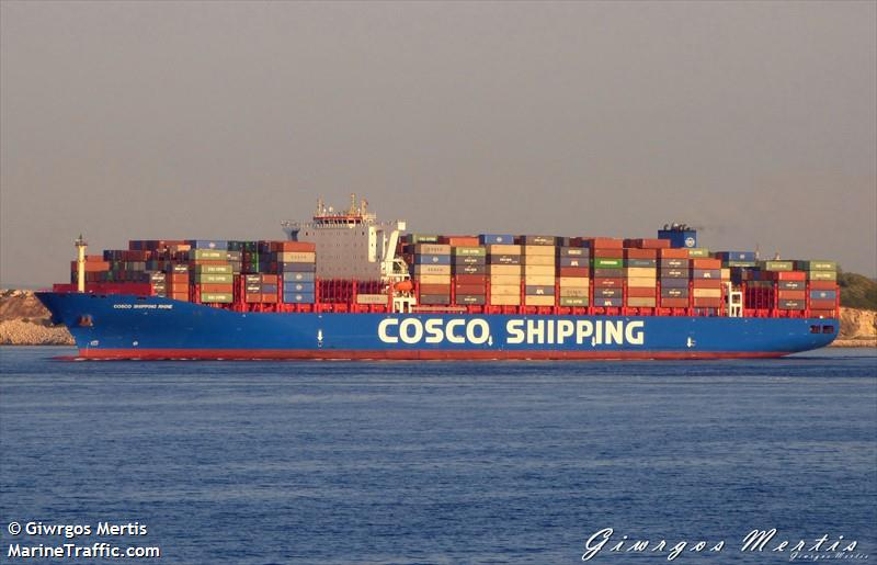 Vessel details for: COSCO SHIPPING RHINE (Container Ship