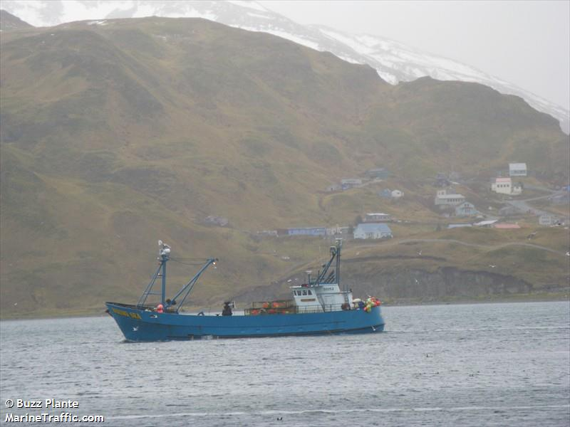 Vessel details for bering sea fishing vessel imo for Bering sea fishing