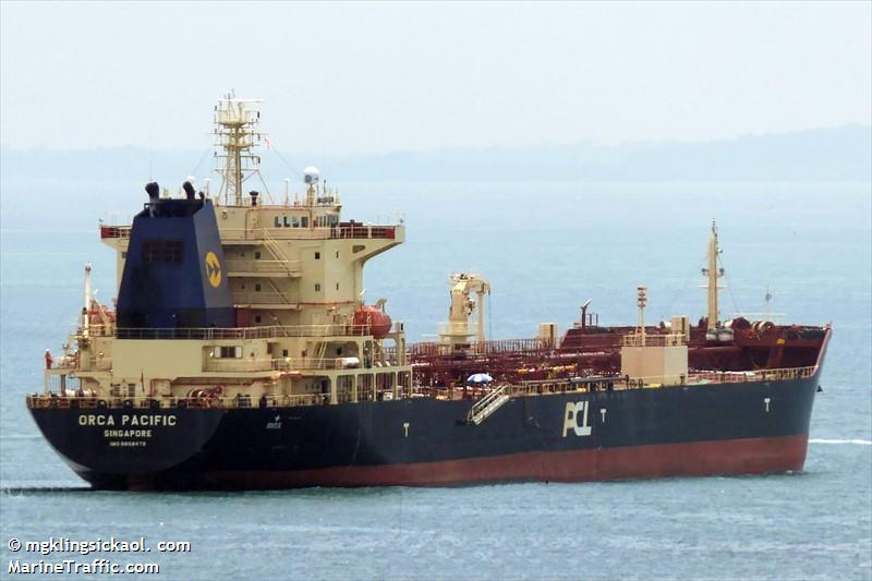 Vessel details for: ORCA PACIFIC (Oil Products Tanker) - IMO