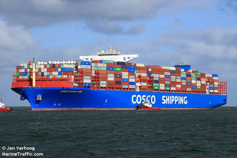 COSCO SHIPPING TAURUS, Container ship, IMO 9783459 | Vessel ...