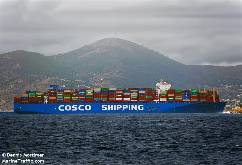COSCO SHIPPING NEBULA, Container ship, IMO 9795622 | Vessel details