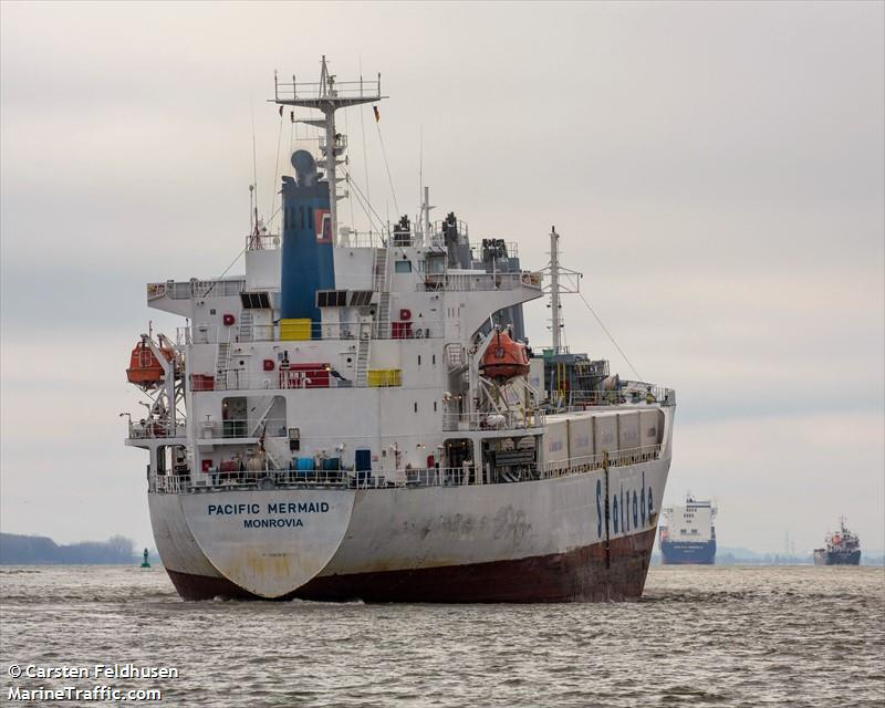 Vessel details for: PACIFIC MERMAID (Reefer) - IMO 9045924