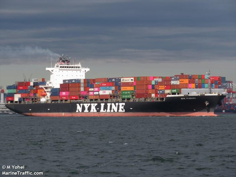 Vessel details for: NYK FUSHIMI (Container Ship) - IMO