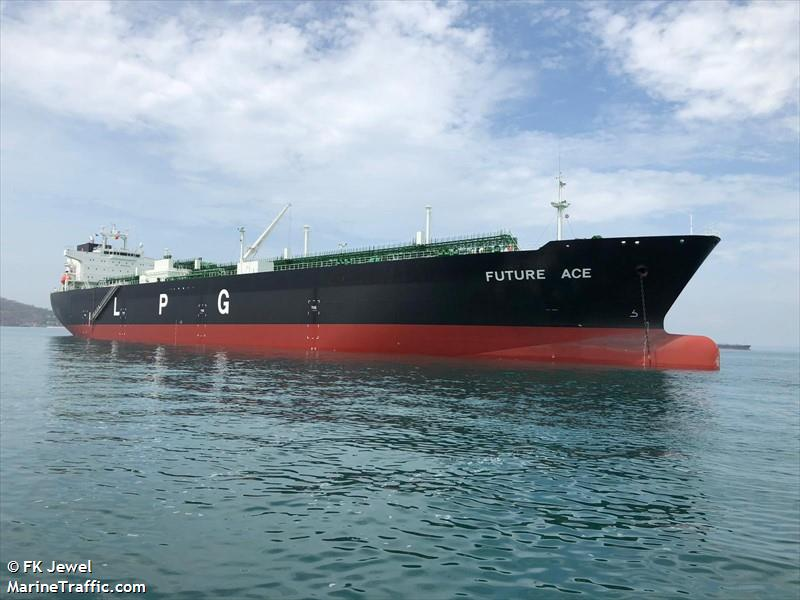 Vessel Details For: FUTURE ACE (LPG Tanker)