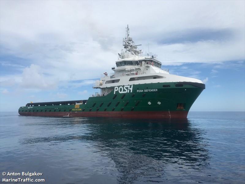 Vessel details for: POSH DEFENDER (Offshore Supply Ship